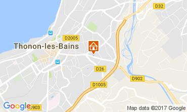Carte Thonon Les Bains Appartement 110536