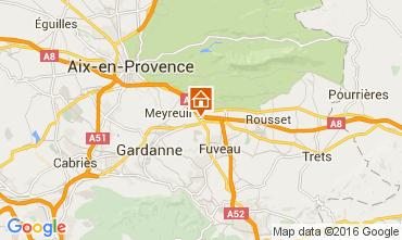 Carte Aix en Provence Appartement 52909