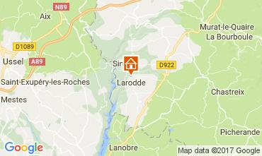 Carte Le Mont Dore Gite 13313