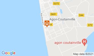 Carte Agon-Coutainville Villa 15234
