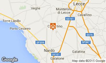 Carte Porto Cesareo Appartement 62909