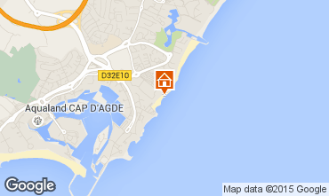 Carte Cap d'Agde Appartement 69123