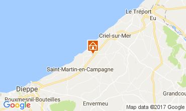 Carte Dieppe Mobil-home 109849