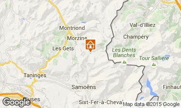 Carte Morzine Chalet 97040