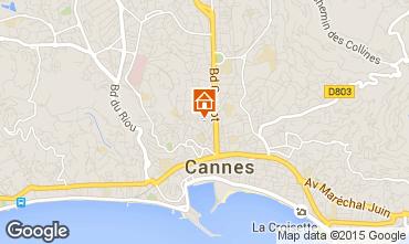 Carte Cannes Studio 87329