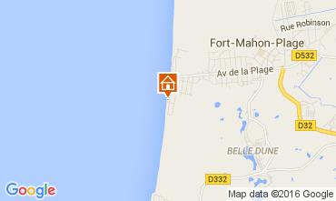 Carte Fort Mahon Appartement 72201