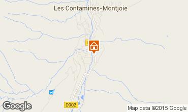 Carte Les Contamines Montjoie Appartement 919