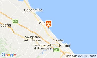Carte Bellaria Igea Marina Appartement 83990