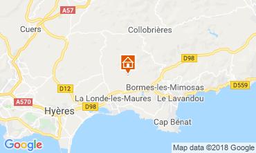 Carte La Londe les Maures Villa 98154