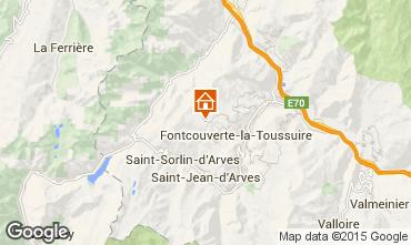 Carte La Toussuire Studio 3184