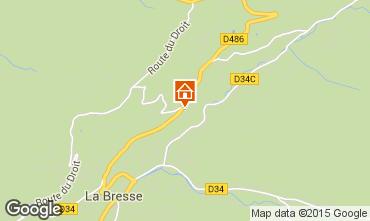 Carte La Bresse Hohneck Gite 4549