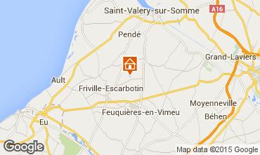 Carte Saint Valéry sur Somme Gite 65530