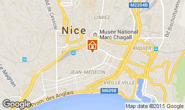 Carte Nice Appartement 8329