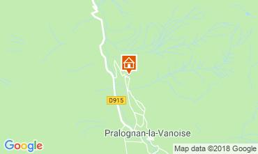 Carte Pralognan la Vanoise Gite 45684