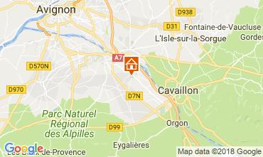 Carte Saint Rémy de Provence Gite 113890