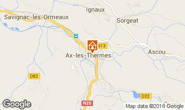 Carte Ax Les Thermes Appartement 102709