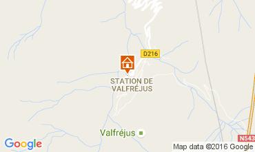 Carte Valfréjus Studio 107115