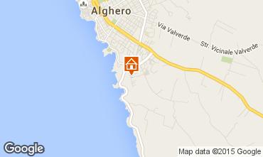 Carte Alghero Appartement 92895