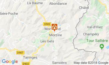 Carte Morzine Appartement 28970