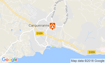 Carte Carqueiranne Appartement 115297