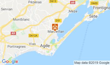 Carte Marseillan Villa 102556