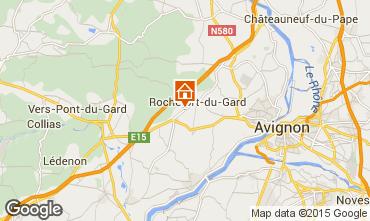 Carte Avignon Gite 33456