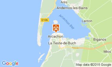 Carte Arcachon Appartement 113009