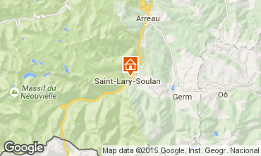 Carte Saint Lary Soulan Studio 28235