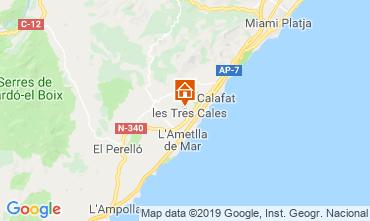 Carte La Ametlla de Mar Villa 118601