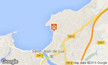 Carte Saint Jean de Luz Appartement 89537