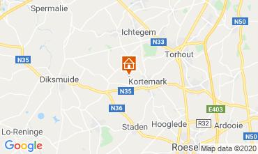 Carte Bruges Villa 117314