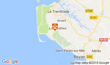 Carte La Palmyre Mobil-home 112788