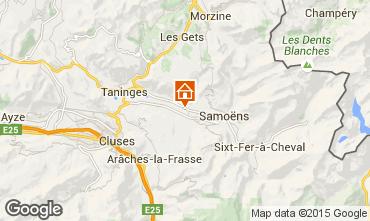 Carte Morillon Grand Massif Chalet 1923
