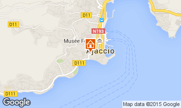 Carte Ajaccio Studio 75768