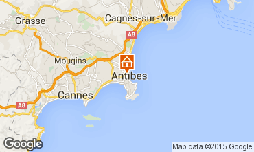 Carte Antibes Mobil-home 5443
