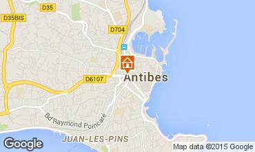 Carte Antibes Mobil-home 5443