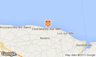 Carte Courseulles-sur-Mer Appartement 90674