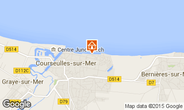 Carte Courseulles-sur-Mer Appartement 90674