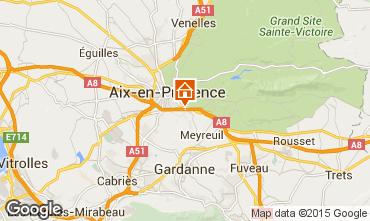 Carte Aix en Provence Appartement 91917