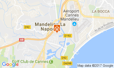 Carte Mandelieu la Napoule Appartement 70823