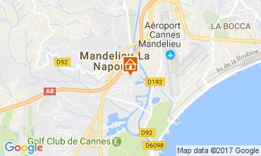 Carte Mandelieu la Napoule Appartement 70823