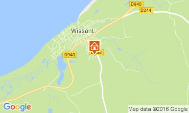 Carte Wissant Maison 62217