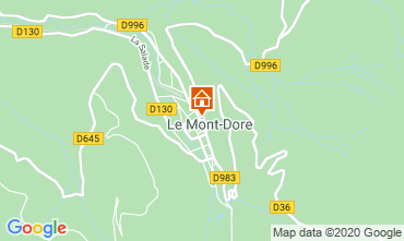 Carte Le Mont Dore Appartement 28412