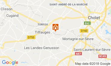 Carte Le Longeron Gite 29534