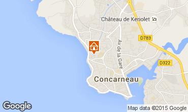 Carte Concarneau Appartement 45074