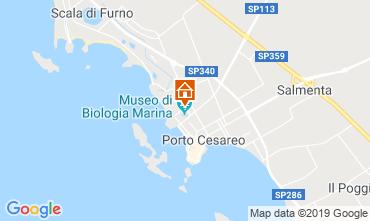 Carte Porto Cesareo Appartement 83720