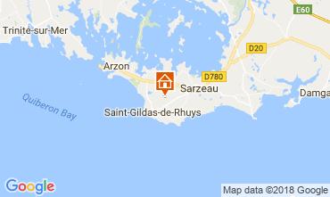 Carte Saint Gildas de Rhuys Maison 10922