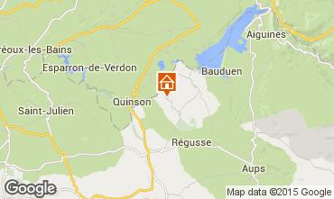 Carte Artignosc-sur-Verdon Maison 93663