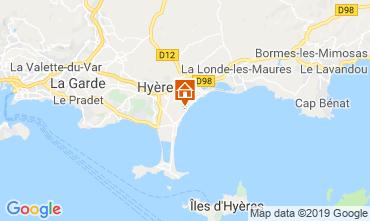 Carte Hyères Mobil-home 117992