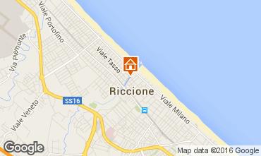 Carte Riccione Appartement 48193